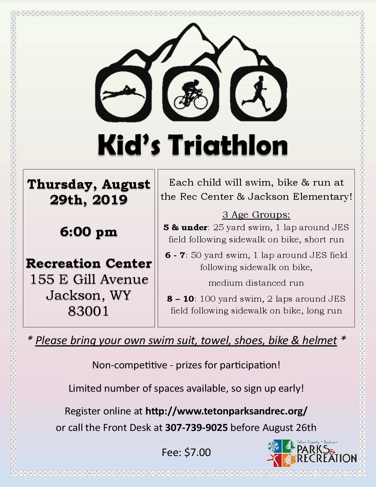 Kid s Triathlon