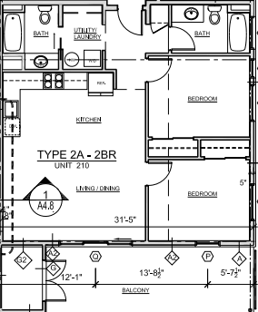 Grove Unit 210 Floor Plan